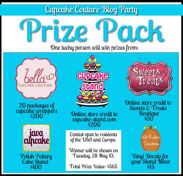 Cupcake Couture Blog Party Prize Pack
