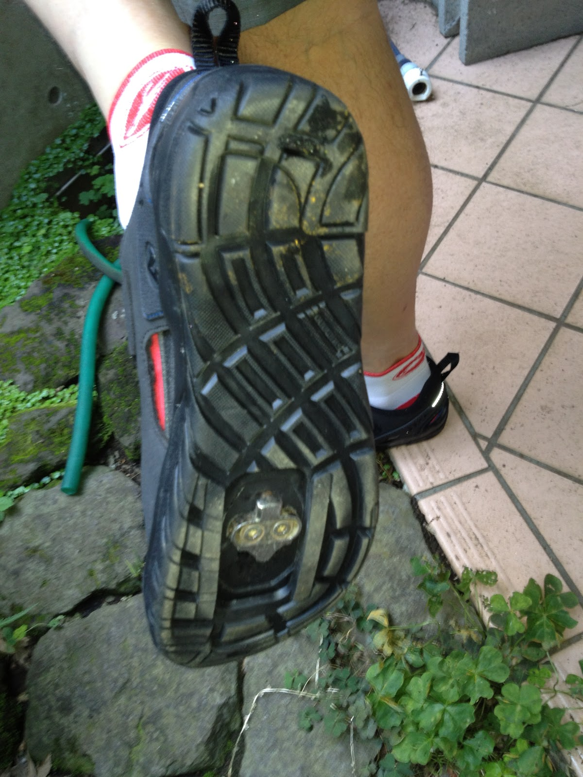 Sandals cycling shoes - Even Better Once I Added The Blue Insoles From Another Pair Of Cycling Shoes