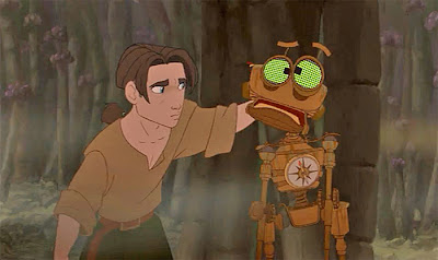 Treasure Planet review Disney Netflix Jim Hawkins Ben