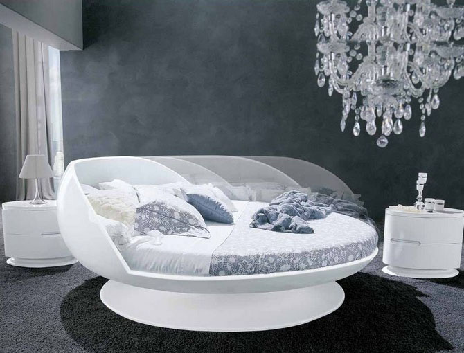 le blog de smart bed d couvrez le lit rond. Black Bedroom Furniture Sets. Home Design Ideas