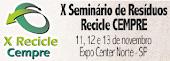 X Seminário de Resíduos 2014