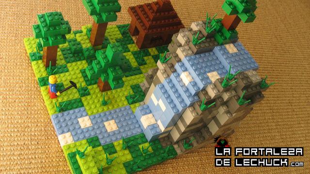 Curiosidades minecraft la fortaleza de lechuck for Videos de minecraft en la vida real