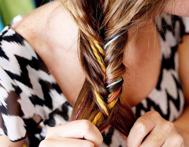 trend spot yarn hair extensions