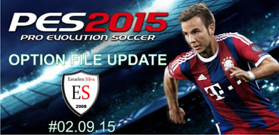 Option File PES 2015 untuk Patch Brasil 2.3