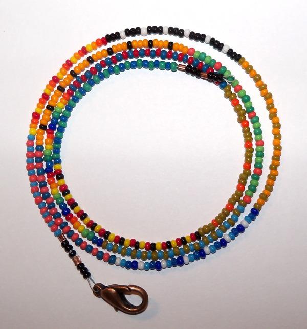 artefaccio quot patchwork quot seed bead necklaces