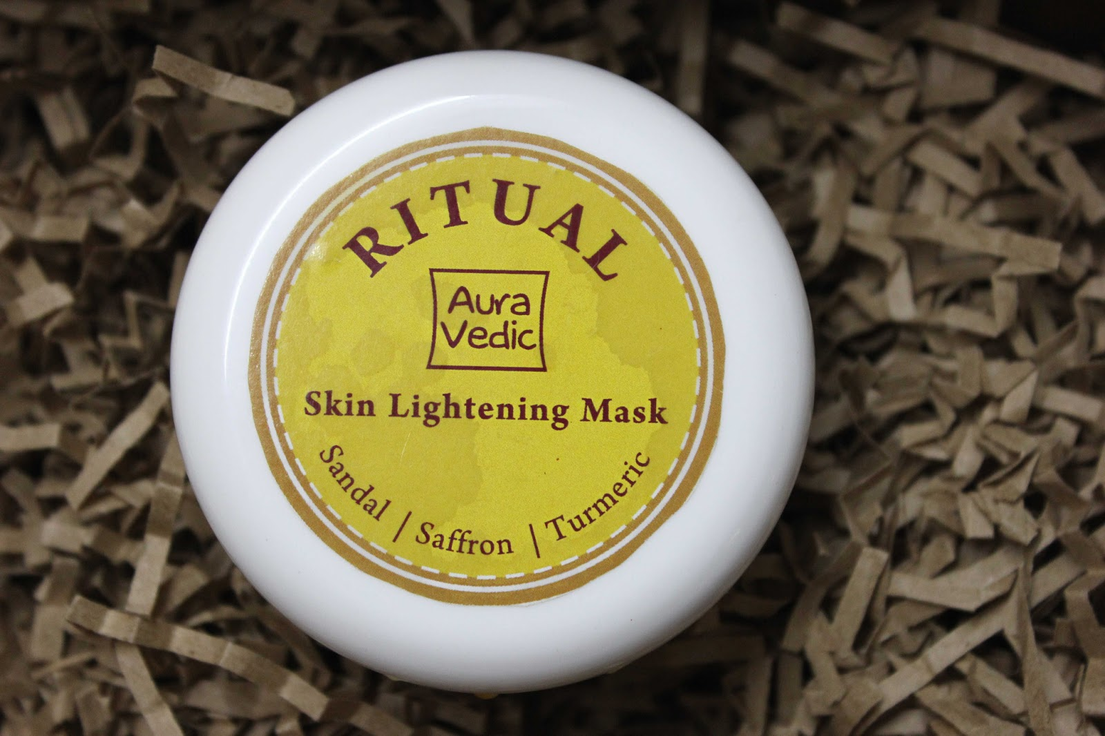 Auravedic Ritual Skin Lightening Mask Product Review at Perfect Skin Care for you