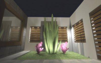 Decora el hogar jardines modernos para interior de casa - Fotos de jardines modernos minimalistas ...