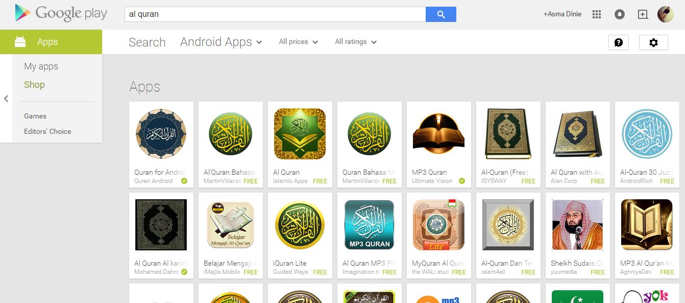 Aplikasi Android Al Quran Terbaik