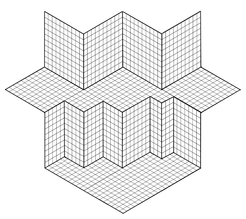 3-Dimensional Graph Paper