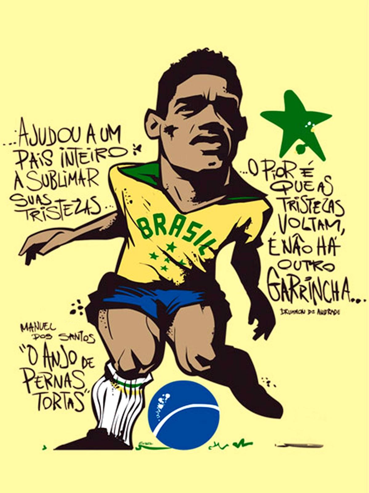 "Literatura na Arquibancada Megafone do esporte Garrincha e o ""olé"""