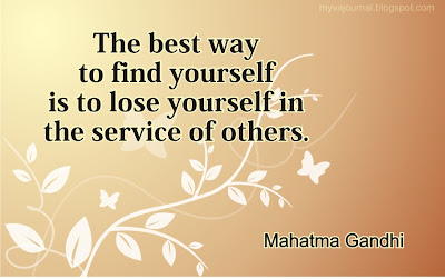 the best way to find yourself is to lose yourself