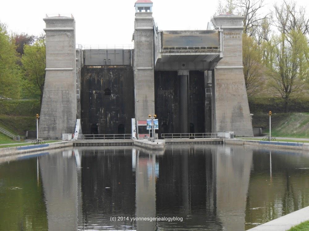 Lock 21 in Peterborough Ontario