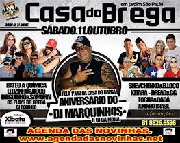 CASA DO BREGA - ANIVERSÁRIO DO DJ MARKINHOS.