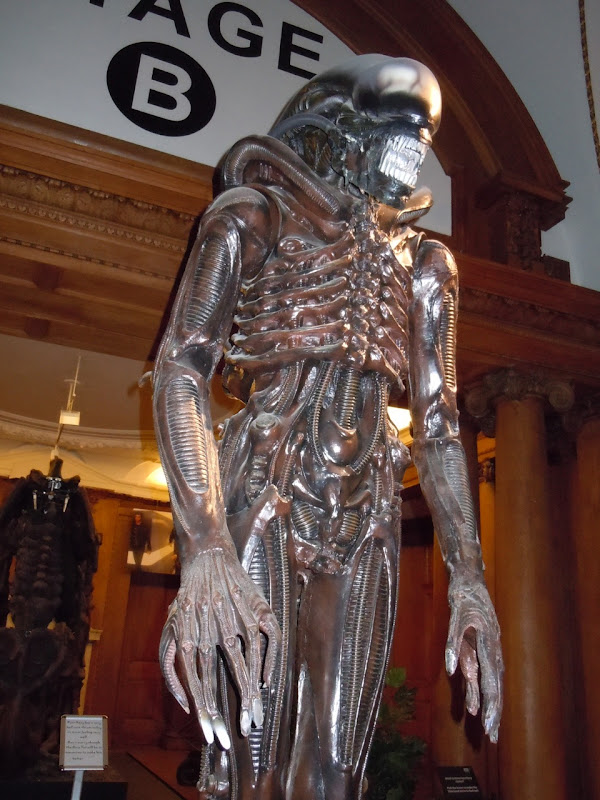 Alien creature film replica