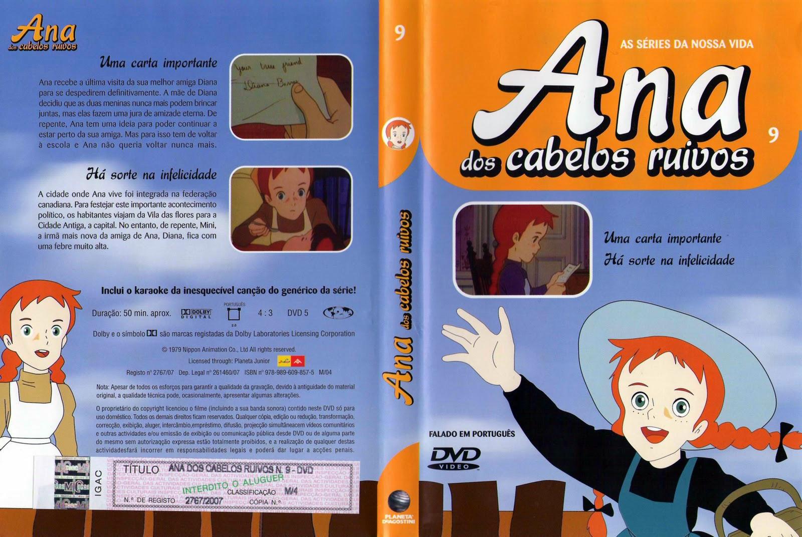 Ana dos Cabelos Ruivos Vol.1 A 25  PT-PT Ana+dos+Cabelos+Ruivos+Vol.9-capa