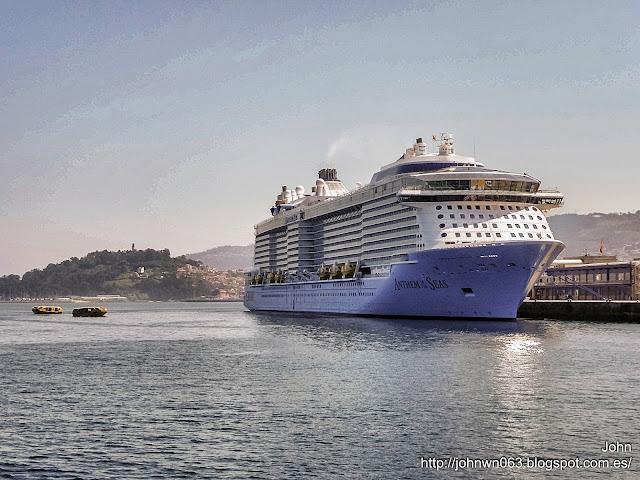 fotos de barcos, imagenes de barcos, anthem of the seas, royal caribbean, vigo