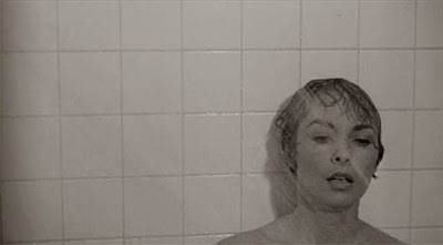 Janet Leigh in shower from Psycho