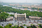 . transformation of the historic 300 acre (120 ha) Gorky Park in Moscow. (gorky park entrance )