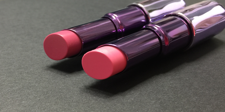 Urban Decay Sheer Revolution Lipstick - Sheer Ladyflower and Sheer Obsessed