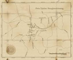Peta Djalan Rangkasbiteong