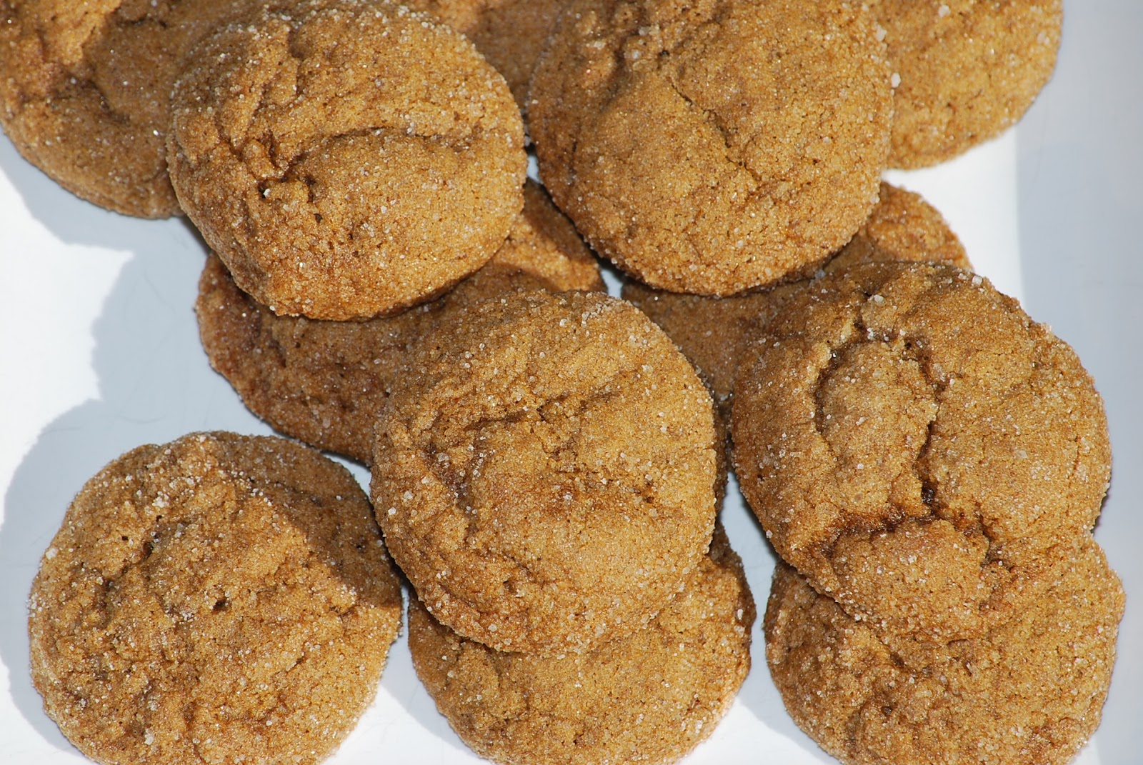 My story in recipes: Pumpkin Gingersnap Cookies