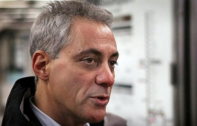 ICHEOKU CONGRATULATES CHICAGO MAYOR-ELECT RAHM EMANUEL.