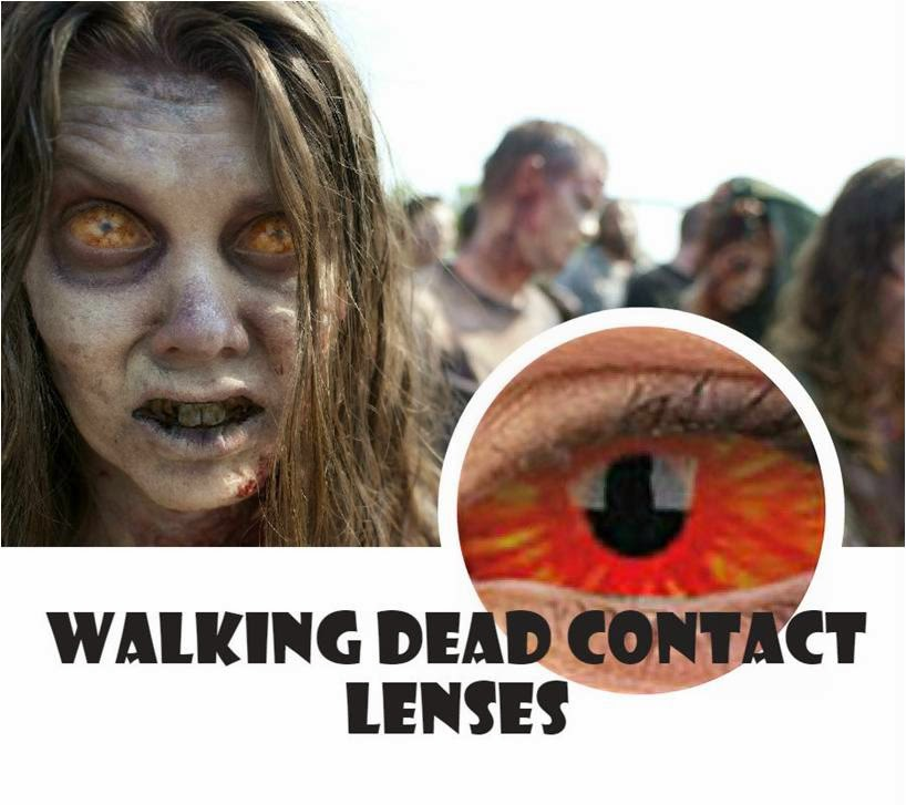 Walking Dead Contact Lenses: 22mm Centurious Sclera Lenses