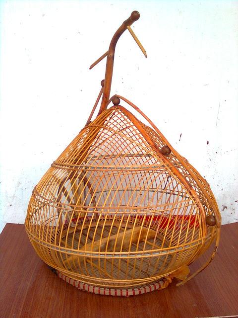 Lồng chim cu gáy đẹp CG002