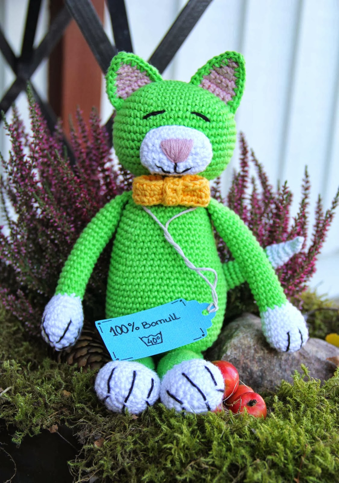 crochet cat patern baby toy