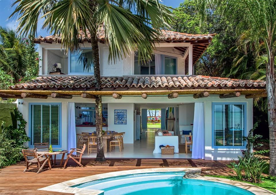 Big House Love Beautiful Beach House In Brazil