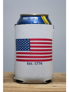 Classic American Flag/Team USA Koozie