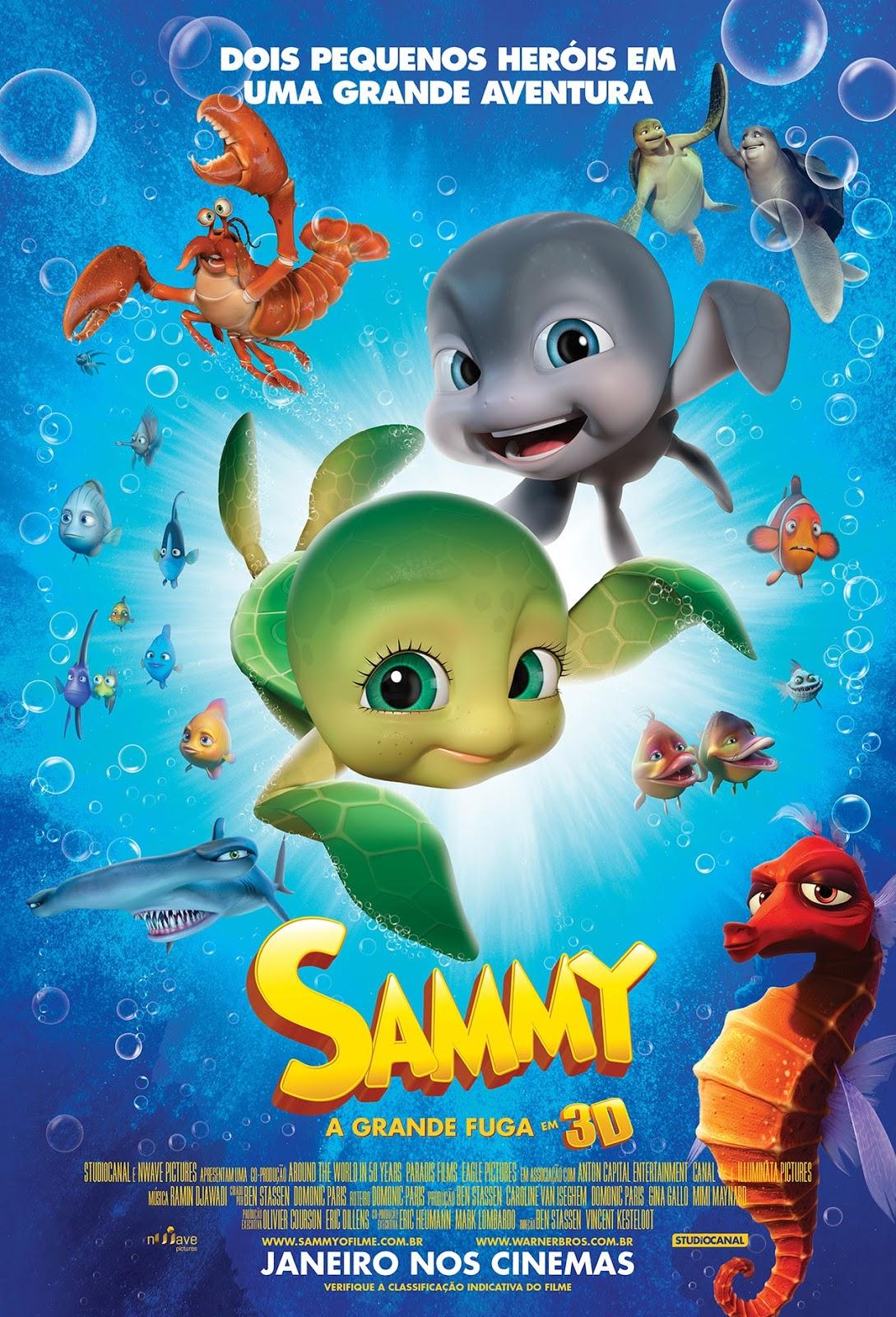 Sammy: A Grande Fuga Dublado 2013
