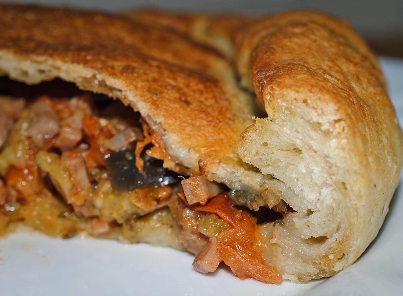 Empanada campestre; rustic pie