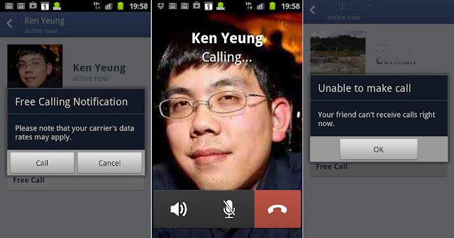Llegan a España las llamadas VoIP de Facebook Messenger