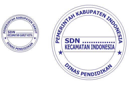 Membuat Logo Stempel Sekolah dengan Microsoft Word