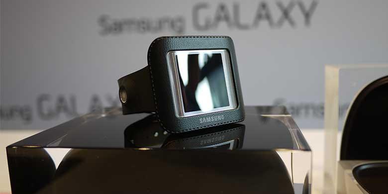 Galaxy Gear Jam Tangan Android Samsung Resmi di Kenalkan