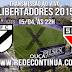 Danúbio x São Paulo - 22hs - Libertadores - 15/04/15
