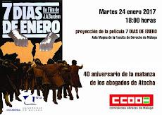 """7 Días de Enero"" film del camarada J. A. Bardem"