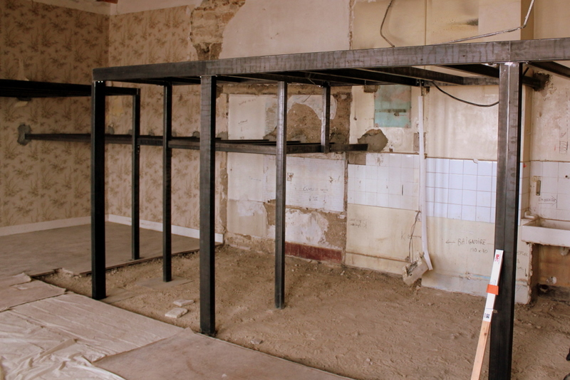 Canut r novation structure de la mezzanine for Renovation canut