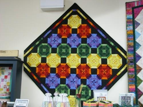 Marbleous! Rainbow Kaleidoscope Quilt Pattern