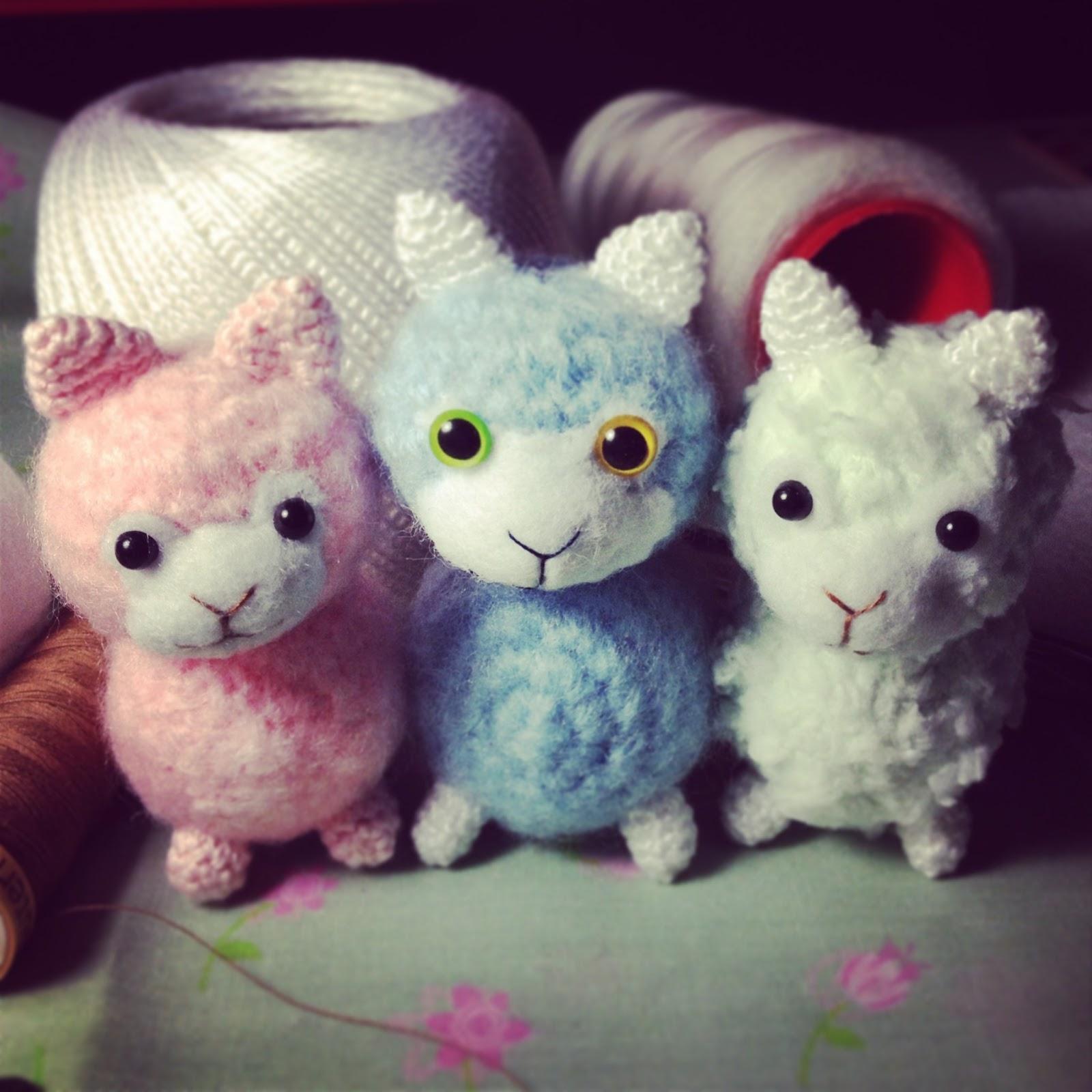 Crochet Amigurumi Llama : Baby Alpaca/Llama Crochet Tutorial ~ The Flying Eggplant