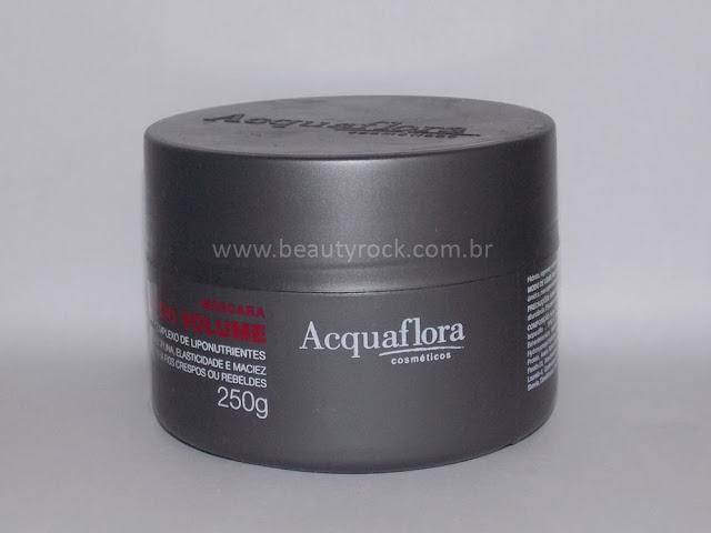 Máscara Controle do Volume da Acquaflora