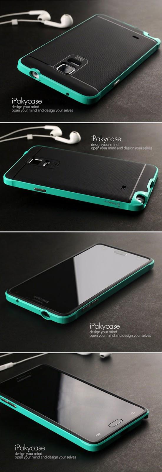 เคส Note 4 สไตล์ไฮบริดของแท้ 131002 สีเขียว