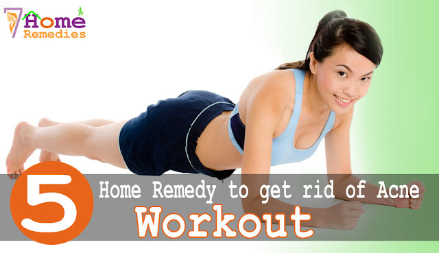 exercise or gym can help reducing chances of acne