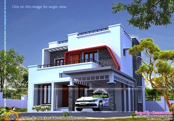 Modern style villa