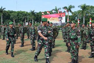 Danrem 071/Wijayakusuma Inpeksi Kesiapan Pasukan TNI Dalam Pengamanan Pilkada 2015
