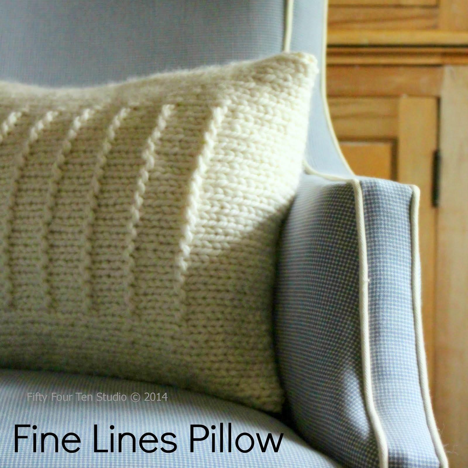 Fine Lines Pillow