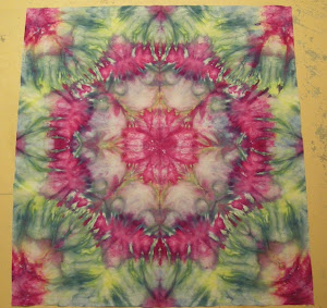 Snow Dyed Mandala