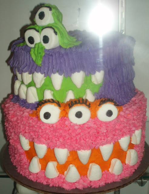 Fantasy monster layer cake