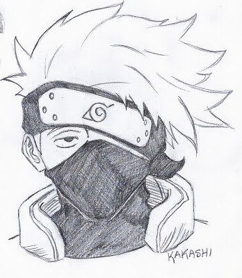 From Pencil to Paper: Naruto, Part 1 | 348 x 400 jpeg 40kB